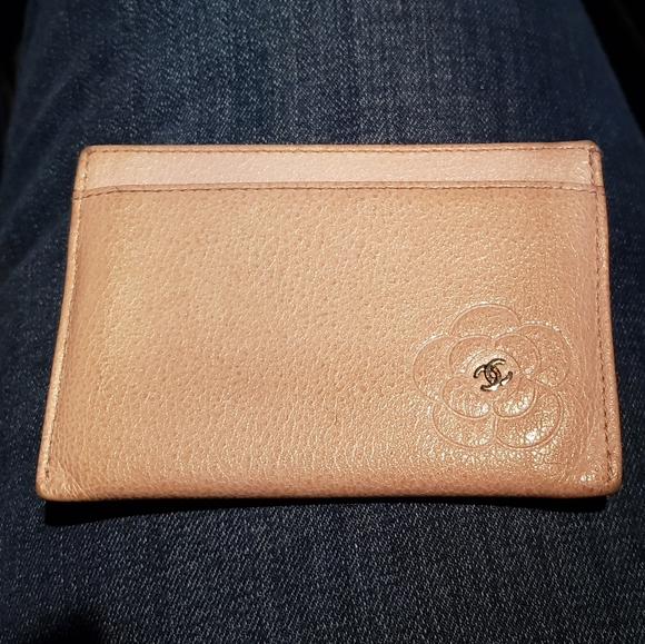 Chanel Camel Card Holder *Authentic*